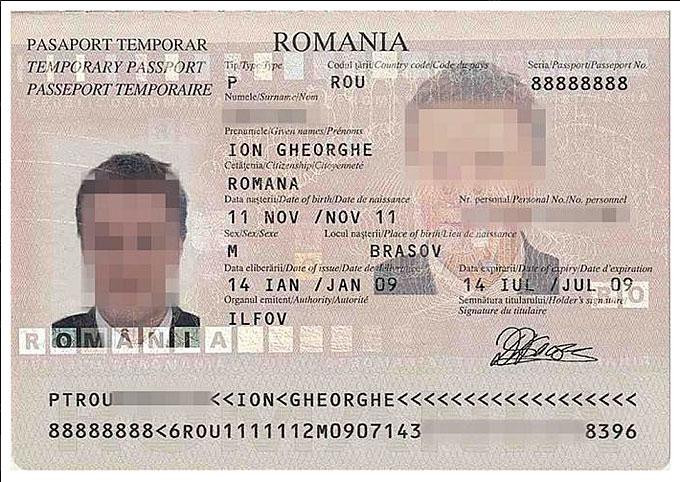 Rumunijos paso pavyzdys