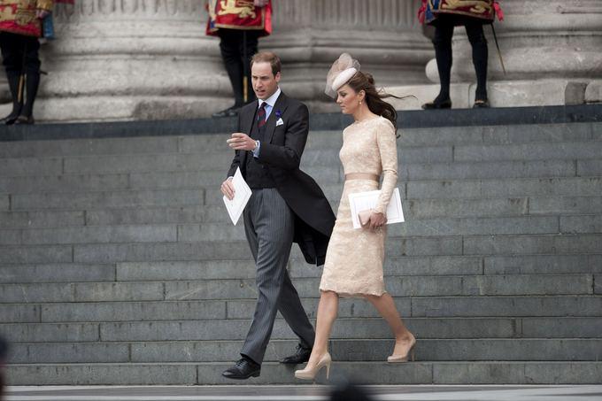 Princas Williamas ir Kembridžo hercogienė Catherine (2012-ųjų birželį)