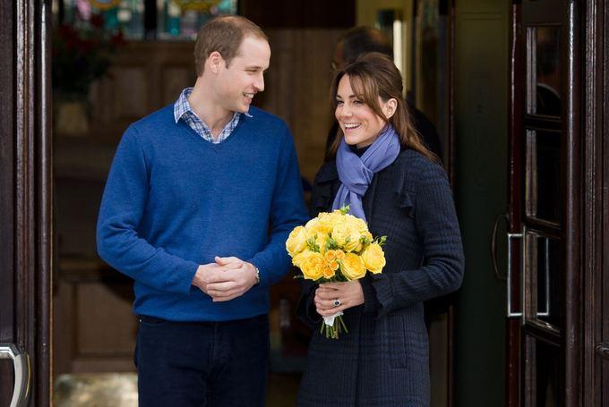 Princas Williamas ir Kembridžo hercogienė Catherine (2012-ųjų gruodį)