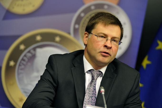 Latvijos ministras pirmininkas Valdis Dombrovski