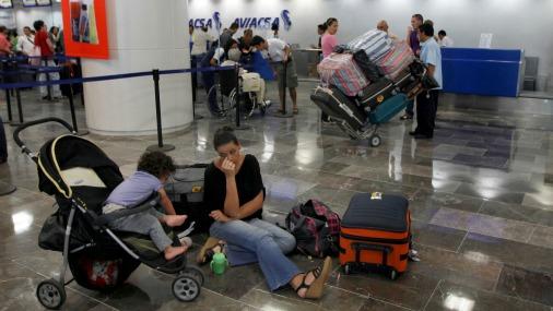 Аэропорт в Канкуне.