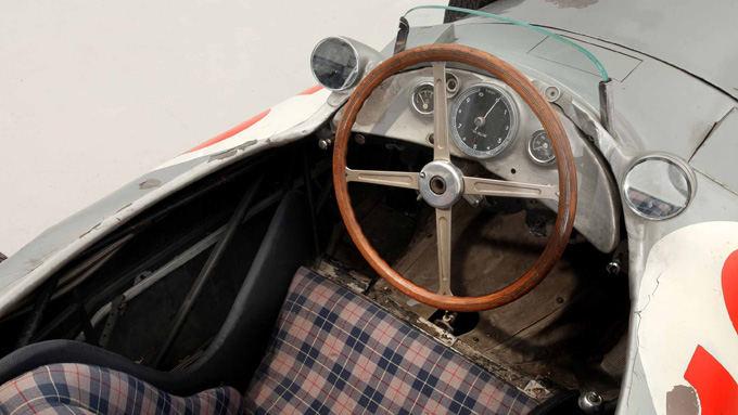 Bonhams aukcionų nuotr./Mercedes W196 bolidas