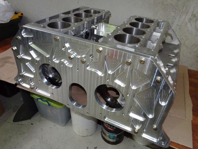 HAL nuotr./Du tarpusavyje sujungti V8 varikliai (W16)