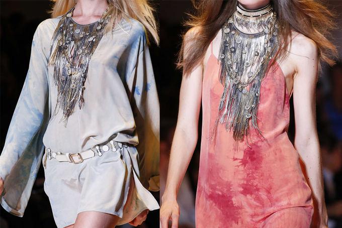 Scanpix nuotr. / Versace 2013 m. pavasario/vasaros kolekcija.
