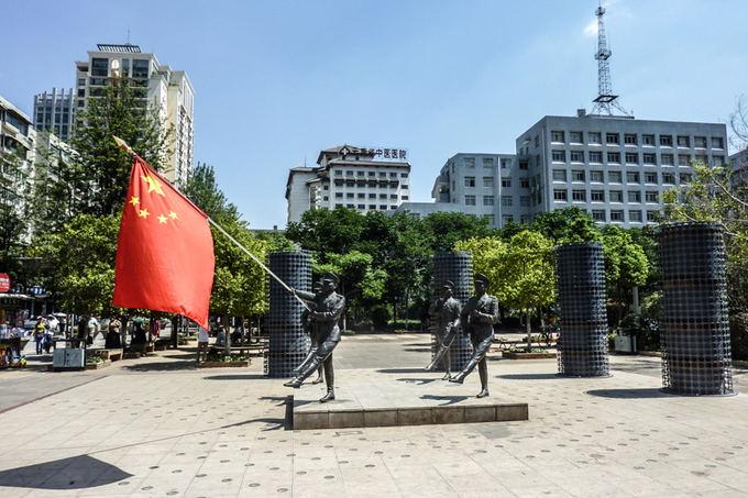 L.Cwierz nuotr./Skulptūra miesto centre