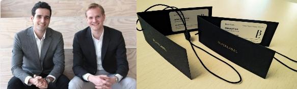 Dirkas Schoutenas ir Timas Ruttenas/BlackLabel vizitinės kortelės