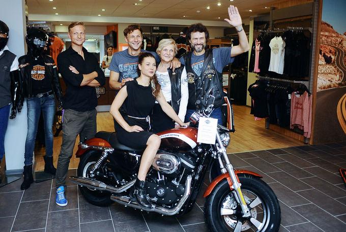 Arvydas Skernevičius atidarė motociklų saloną