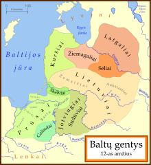 Baltų gentys