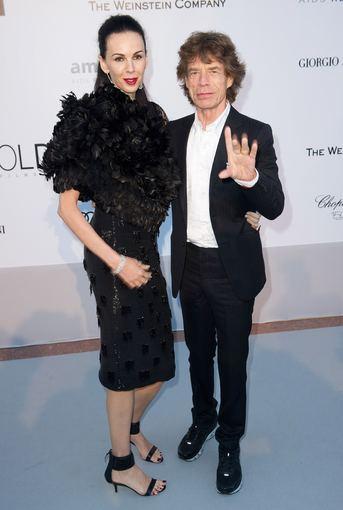 Mickas Jaggeris ir L'Wren Scott (2010 m. gegužės 20 d.)