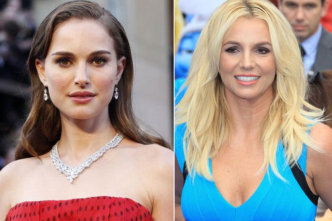 Scanpix nuotr. / Kairėje: aktorė Natalie Portman; deainėje: atlikėja Britney Spears.