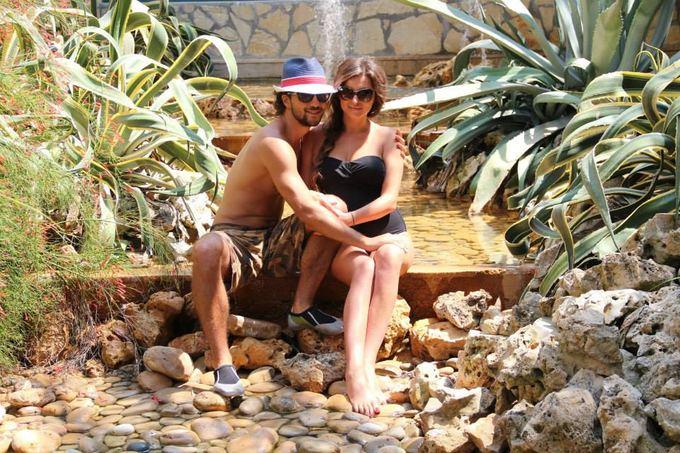 Asmeninio albumo nuotr./Vytautas Mackonis su žmona Natalija Turkijoje