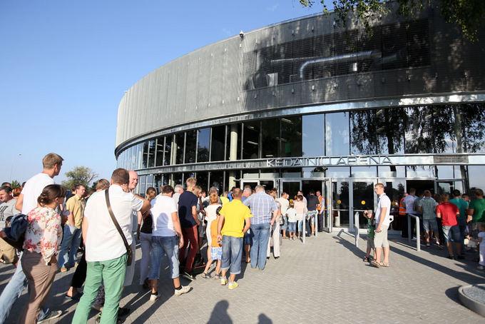 Eriko Ovčarenko / 15min nuotr./Kėdainių arena 2013 metais