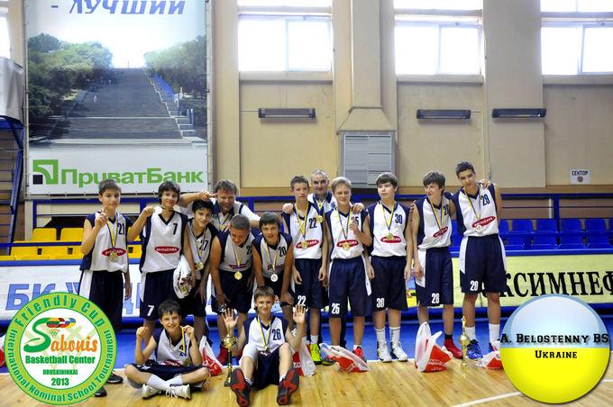 saboniocentras.lt nuotr./Aleksandro Belostenovo Ukrainos komanda.