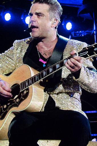 Ugnės Jasinskaitės/Žmonės.lt nuotr./Robbie Williamso koncertas Taline