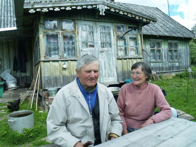 Valteris ir Valė Valenčiai. Laimos Putriuvienes nuotr.