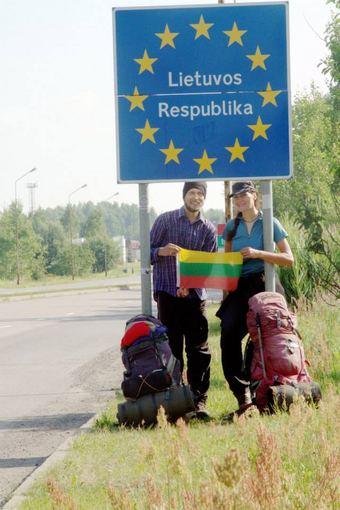 Evelinos ir Karolio nuotr./Galų gale Lietuva