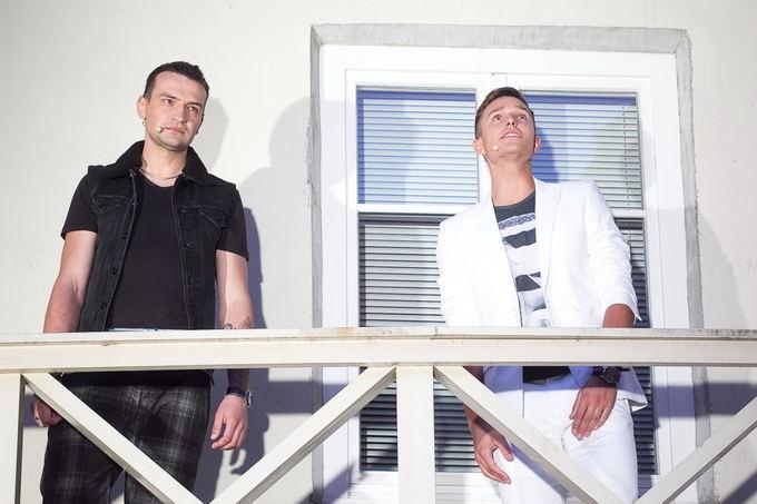 Jonas Čepulis ir Martynas Kavaliauskas