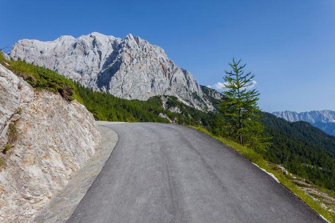 123rf.com nuotr./Kalnų kelias Slovėnijoje
