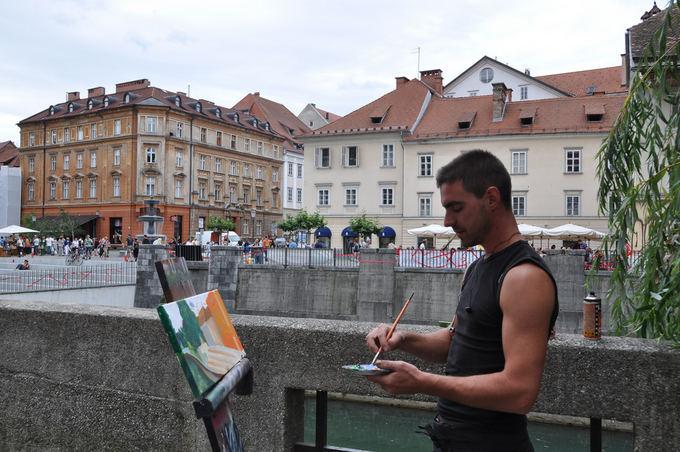 Nava Writz nuotr./Liublianoje
