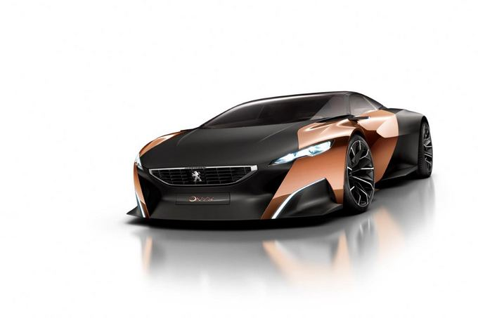 Peugeot nuotr./Peugeot Onyx