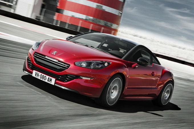 Peugeot nuotr./Peugeot RCZ R