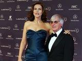 Bernie Ecclestone su žmona Slavica