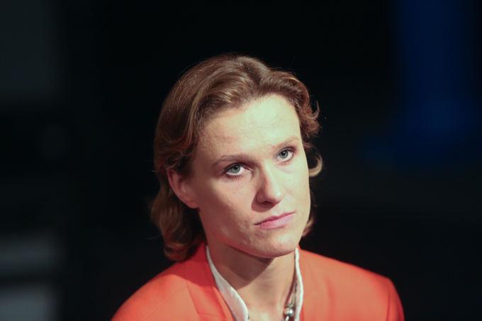Juliaus Kalinsko/15min.lt nuotr./Baltijos baleto grupės vadovė ir Eugenijaus Onegino choreografė Marija `imulynaitė