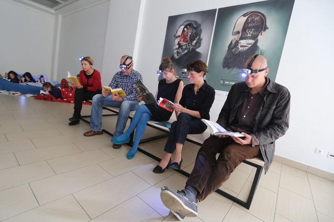 Juliaus Kalinsko/15min.lt nuotr./Vilniaus knygų festivalio pristatymas