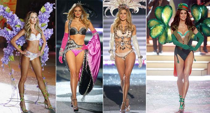 Scanpix nuotr. / Victoria's Secret modeliai