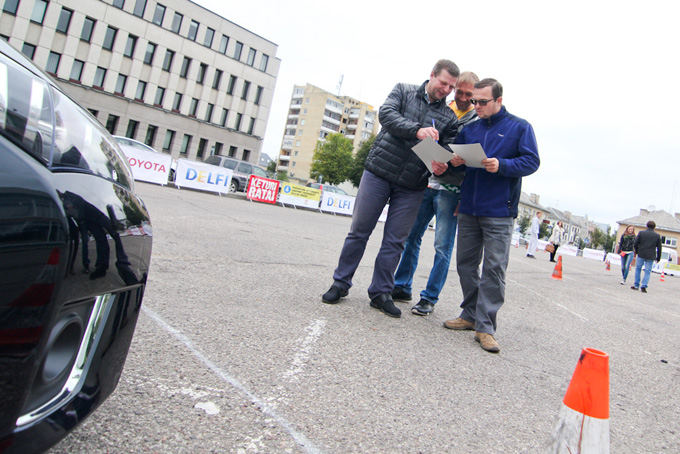 Egidijaus Babelio nuotr./Konkursas Geriausias Lietuvos vairuotojas
