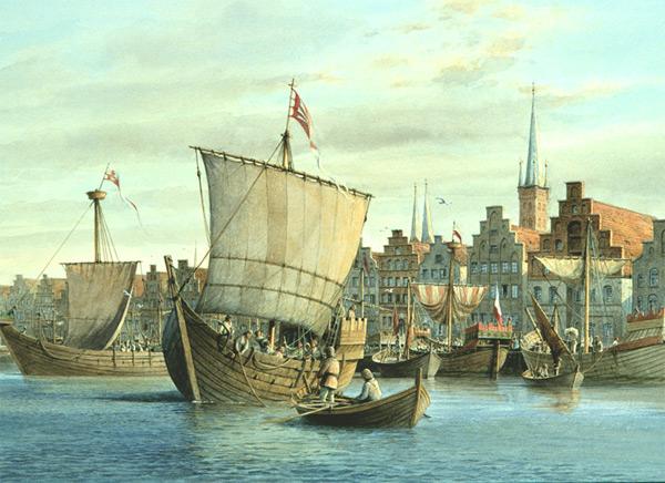 Lietuvos pirklių luomas nė iš tolo negalėjo lygintis su Hanzos sąjungos miestų pirkliais