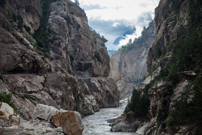 Dviratininkų nuotr./Trapeklis Himalajuose Indijoje