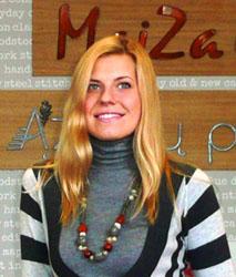 MAIZA parduotuvės vadovė Sigita Jurgelionytė