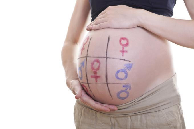 Kokia bus kūdikio lytis?