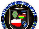 "./Pratybų ""Steadfast Jazz 2013"" emblema"