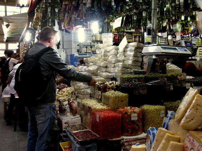 A.Baranauskaitės nuotr./Centrinis San Paulo turgus