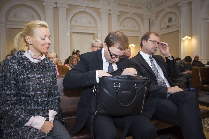 Vitalija Vonžutaitė, Vytautas Gapays ir Viktoras Uspaskichas