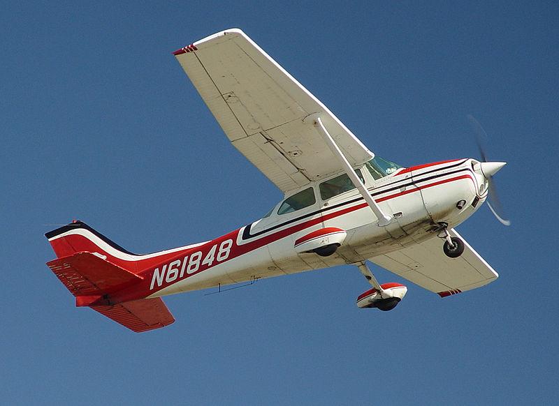 """Lėktuvas """"Cesna 172"""""""