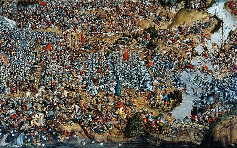 """Hanso Krello paveikslas """"Oršos mūšis"""""""