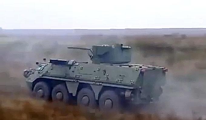 Ukrainiečių šarvuotis BTR-4