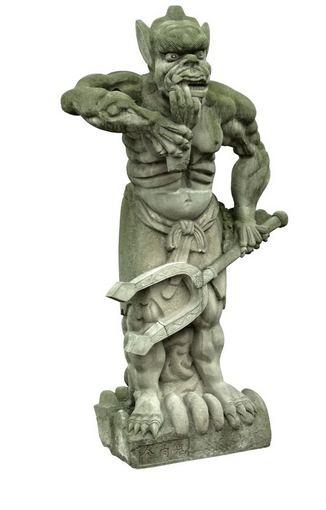 123rf.com nuotr./Demono skulptūra Fengdu mieste