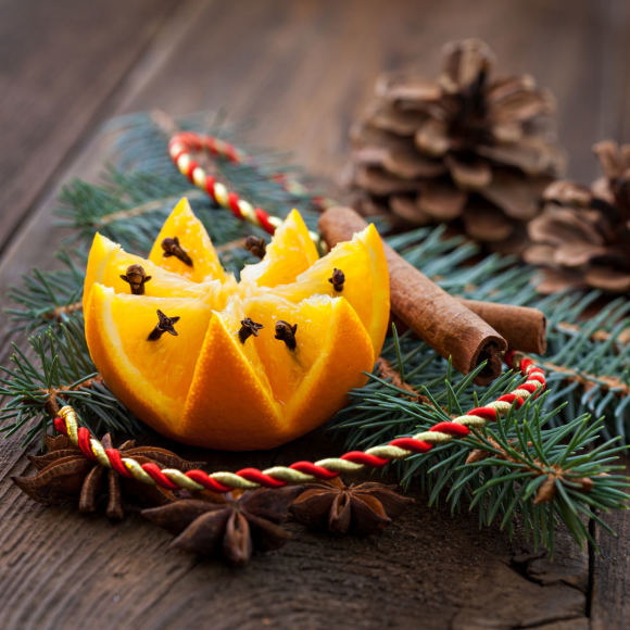 Fotolia nuotr. / Kalėdinės dekoracijos
