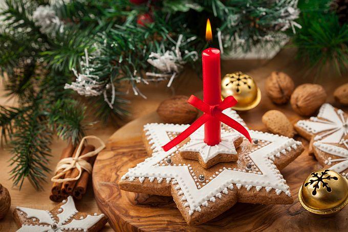 Žvakė iš kalėdinių meduolių