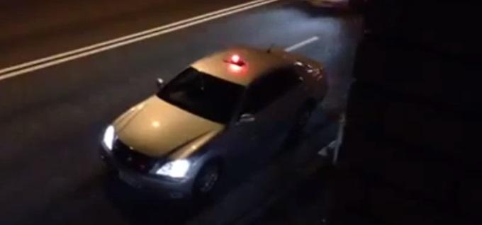 """Japonijos policijos """"Toyota Crown"""""""