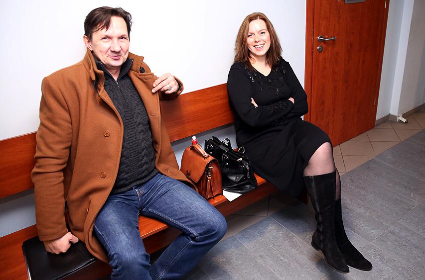 Leopoldas Malinauskas ir Jūratė Malinauskienė