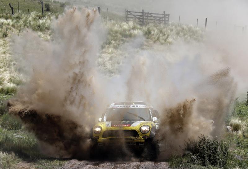 Pirmas Dakaro ralio greičio ruožas