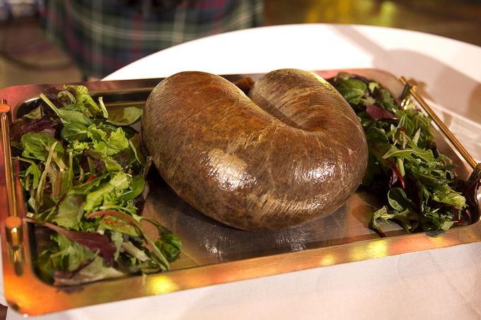 """Viganto Ovadnevo/Žmonės.lt nuotr./Tradicinis škotų patiekalas """"Hagis"""""""
