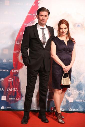 Luko Balandžio/Žmonės.lt nuotr./Tommi Korpela su žmona