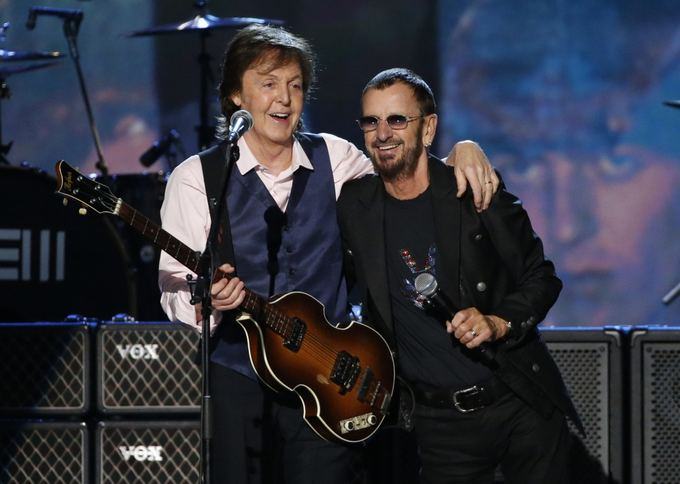 """Reuters""/""Scanpix"" nuotr./Paulas McCartney ir Ringo Starras"