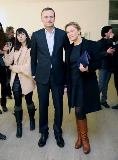 Luko Balandžio/Žmonės.lt nuotr./Agnė Grigaliūnienė su vyru Simonu
